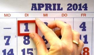 Der 1. April birgt viele Falschmeldungen. (Foto)