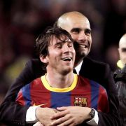 Schnappt sich Pep Guardiola Linoel Messi? (Foto)