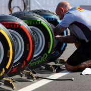 Diese Reifen-Regeln müssen die Profis beachten (Foto)