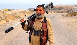 Scharfschütze Abu Tahseen soll bereits hunderte IS-Kämpfer erschossen haben. (Foto)