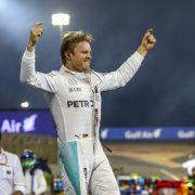 Nico Rosberg gewinnt auch in Bahrain, Hamilton mit Unfall (Foto)