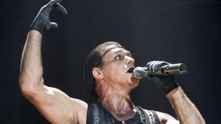Rammstein-Sänger Till Lindemann. (Foto)