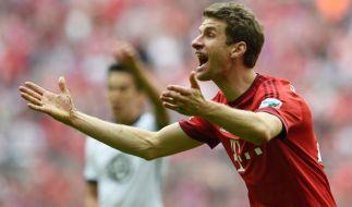 Thomas Müller hat das Halbfinale vor Augen. (Foto)