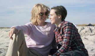 """Ellen Pages letzter Film trifft nach ihrem Coming-out genau ins Schwarze. In""""Freeheld"""" spielt sie die Lebensgefährtin von Julianne Moore (l.). (Foto)"""