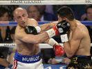 Box-Profi Arthur Abraham hatte es schwer gegen den Mexikaner Gilberto Ramirez beim Fight am 09.04.2016. (Foto)