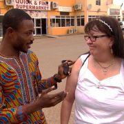 Ist Elviras Freund Collins aus Ghana bloß ein gemeiner Betrüger? (Foto)