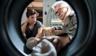 Schafft es Conrad (Florian David Fitz), seinen Vater Carl (Henry Hübchen) vom Alkohol wegzubringen und so seine Familie zu retten? (Foto)