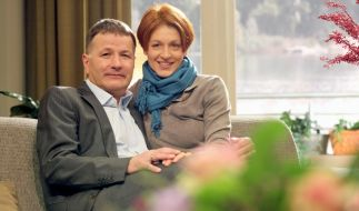 Thomas Rühmann (als Dr. Roland Heilmann) und Hendrikje Fitz (als Pia Heilmann) waren das Serien-Ehepaar bei IaF. (Foto)
