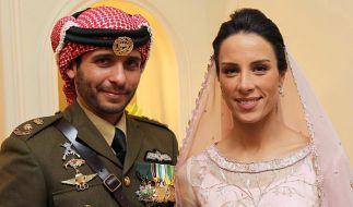 Prinz Hamzah bin Al Hussein und Prinzessin Hamzah haben ihre dritte Tochter bekommen. (Foto)