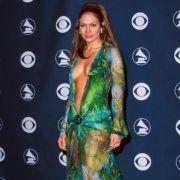 Jennifer Lopez in einem Hauch von Nichts bei der Oscar-Verleihung 2000.