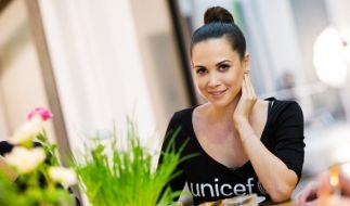 Grace Capristo, damals noch bekannt als Mandy Capristo, bei einer Wohltätigkeitsaktion für Unicef am 29.11.2015. (Foto)