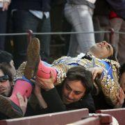 Der Torero wurde umgehend ins Krankenhaus gebracht.