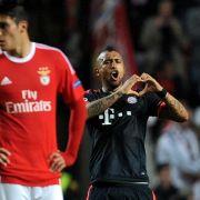 FC Bayern zieht mit starkemVidal ins Halbfinale ein (Foto)