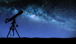 Sternschnuppen im April: Die Lyriden flitzen über den Himmel. (Foto)