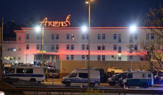 Razzia im Berliner Luxus-Bordell Artemis. (Foto)