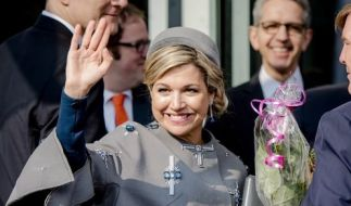 Königin Máxima auf Besuch in Nürnberg. (Foto)