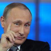 Single oder nicht? Putin in Plauderlaune (Foto)