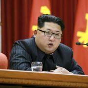 Kim Jong-Un versaut Opis Geburtstag (Foto)