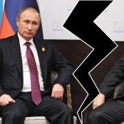 Der brutale Machtkampf zwischen Putin und Erdogan (Foto)