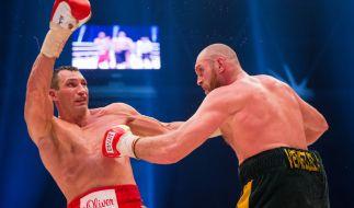 Tyson Fury erhebt schwer Vorwürfe gegen Wladimir Klitschko. (Foto)