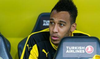 Aubameyang fehlt Borussia Dortmund im Halbfinale gegen Hertha BSC. (Foto)