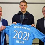 Bis 2021! Manuel Neuer bleibt bei FC Bayern (Foto)