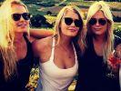 Jung, blond, wild: Lady Kitty Spencer und ihre Schwestern, Lady Eliza und Lady Amelia. (Foto)