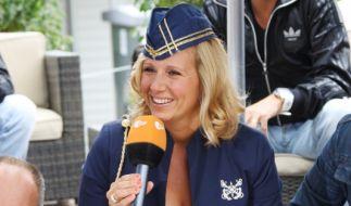"Die aktuelle Moderatorin im ""ZDF-Fernsehgarten"": Andrea Kiewel. (Foto)"