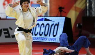 Judo EM 2016: Laura Vargas-Koch im Einsatz – Die Weltranglisten-Zweite gilt als große Medaillenhoffnung in Kasan. (Foto)