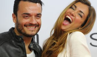 Seit fast 11 Jahren glücklich verheiratet: Jana Ina und Giovanni Zarella. (Foto)