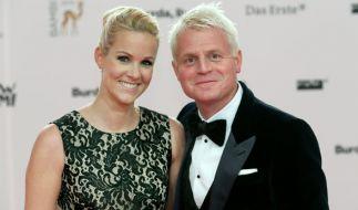 Guido Cantz mit Ehefrau Kerstin. (Foto)