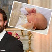 Erstes Baby-Foto: Prinz Alexander verzaubert Schweden (Foto)