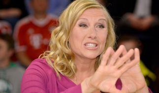Andrea Kiewel will sich mit der Kritik im Internet lieber nicht auseinandersetzen. (Foto)