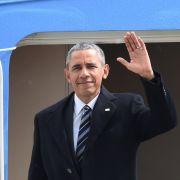 Kot und Blut: Ekelunterkunft für Polizisten bei Barack-Obama-Besuch (Foto)