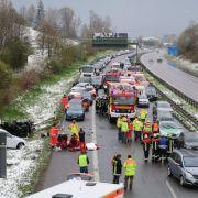 Gefährliches Winterwetter! Zahlreiche Unfälle in Deutschland (Foto)