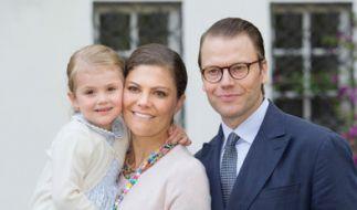 Die Prinzenfamilie noch ohne Baby Oscar. (Foto)