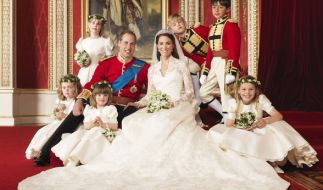 Herzogin Catherines Hochzeitskleid war ein Traum in Weiß. (Foto)
