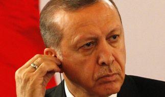 Erneut hat ein Erdogan-kritischer Text den Unmut des türkischen Präsidenten geweckt. (Foto)