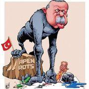 Als Affe verhöhnt! Wird Erdogan wieder klagen? (Foto)
