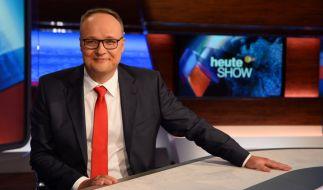 """Oliver Welke moderiert die ZDF-""""heute show"""". (Foto)"""