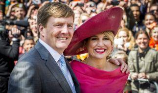 König Willem-Alexander von den Niederlanden und seine wunderschöne Königin Maxima. (Foto)