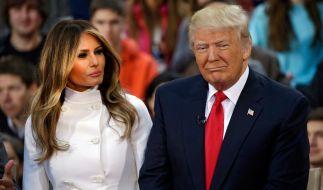 Melania und Donald Trump sind bereits seit 2005 glücklich verheiratet. (Foto)