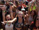 Party auf dem Coachella Festival. (Foto)