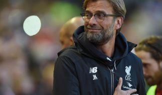 Jürgen Klopp tritt mit dem FC Liverpool gegen den FC Villarreal an. (Foto)