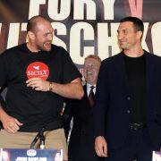 Pressekonferenz vorm Rückkampf: Klitschko will Fehler korrigieren (Foto)