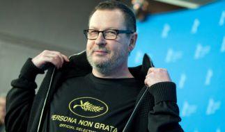 Lars von Trier bei der Berlinale. (Foto)