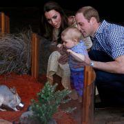 Am Ostersonntag, dem 20. April 2014, stand ein Familienbesuch im Taronga Zoo in Sidney an. Besonders interessant schien der kleine Prinz den in Australien beheimateten Bilby zu finden, der ebenfalls George heißt.