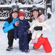William, Kate und ihre kleinen Schneehasen genießen ihren Winterurlaub in den französischen Alpen.