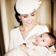 Prinzessin Charlotte trug dasselbe Taufkleid wie ihr Bruder George zwei Jahre vor ihr.