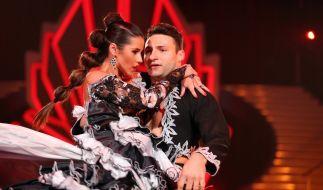 Sarah Lombardi und ihr Tanzpartner Robert Beitsch. (Foto)